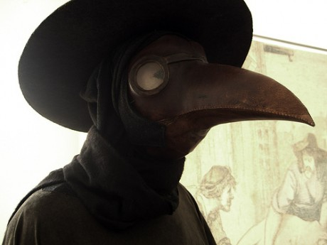 Weird Things » Blog Archive » Creepy Bird Masks of the
