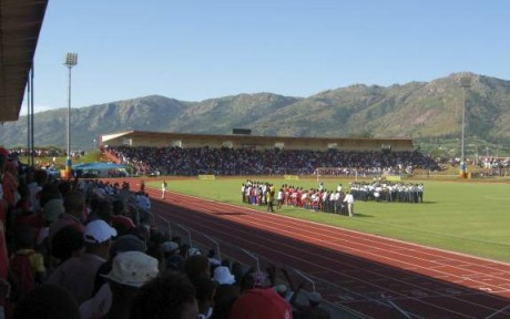 Somhlolo National Stadium, Swaziland