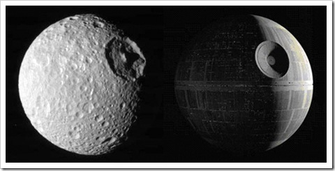 Mimas and a Death Star