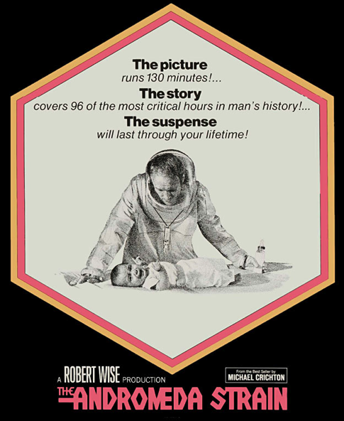 an analysis of michael crichtons the andromeda strain We spotlight the book and movie versions of the andromeda strain by  michael  crichton eventually wrote about it in an essay about aids.