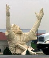 6-story Jesus statue in Ohio struck by lightning - Weird news- msnbc.com.jpg
