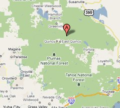 Plumas County CA  Google Maps
