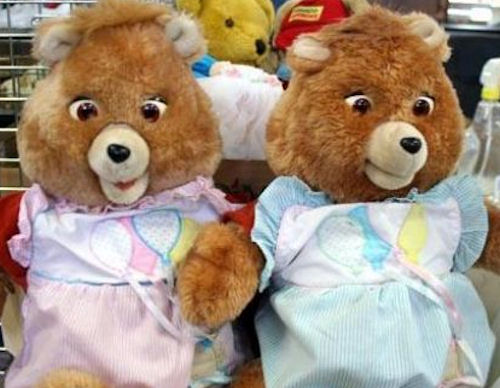 Weird Things » Blog Archive » 80 Teddy Ruxpins Become Creepy