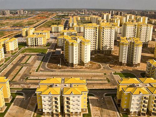 Nova Cidade de Kilamba Aerial