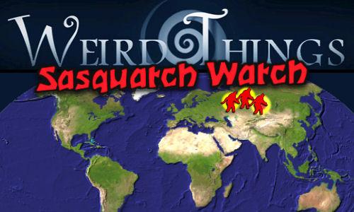 WeirdThingsSasquatchWatch