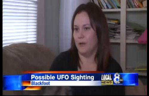 Blackfoot Idaho UFO Sightings