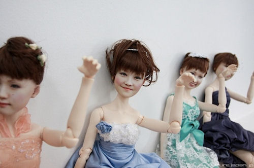 Creepy Clone Factory Dolls